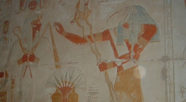 Thoth in Seti Temple
